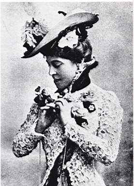 Actress Lillie Langtry