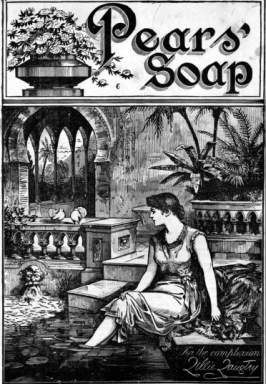 Pears Soap Advertisement